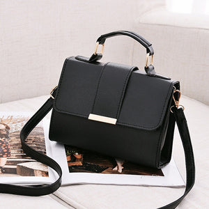 Leather Small Flap Crossbody