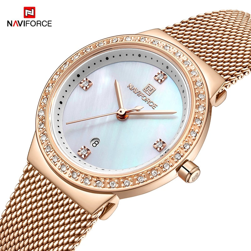 Women Luxury Quartz Waterproof Watches