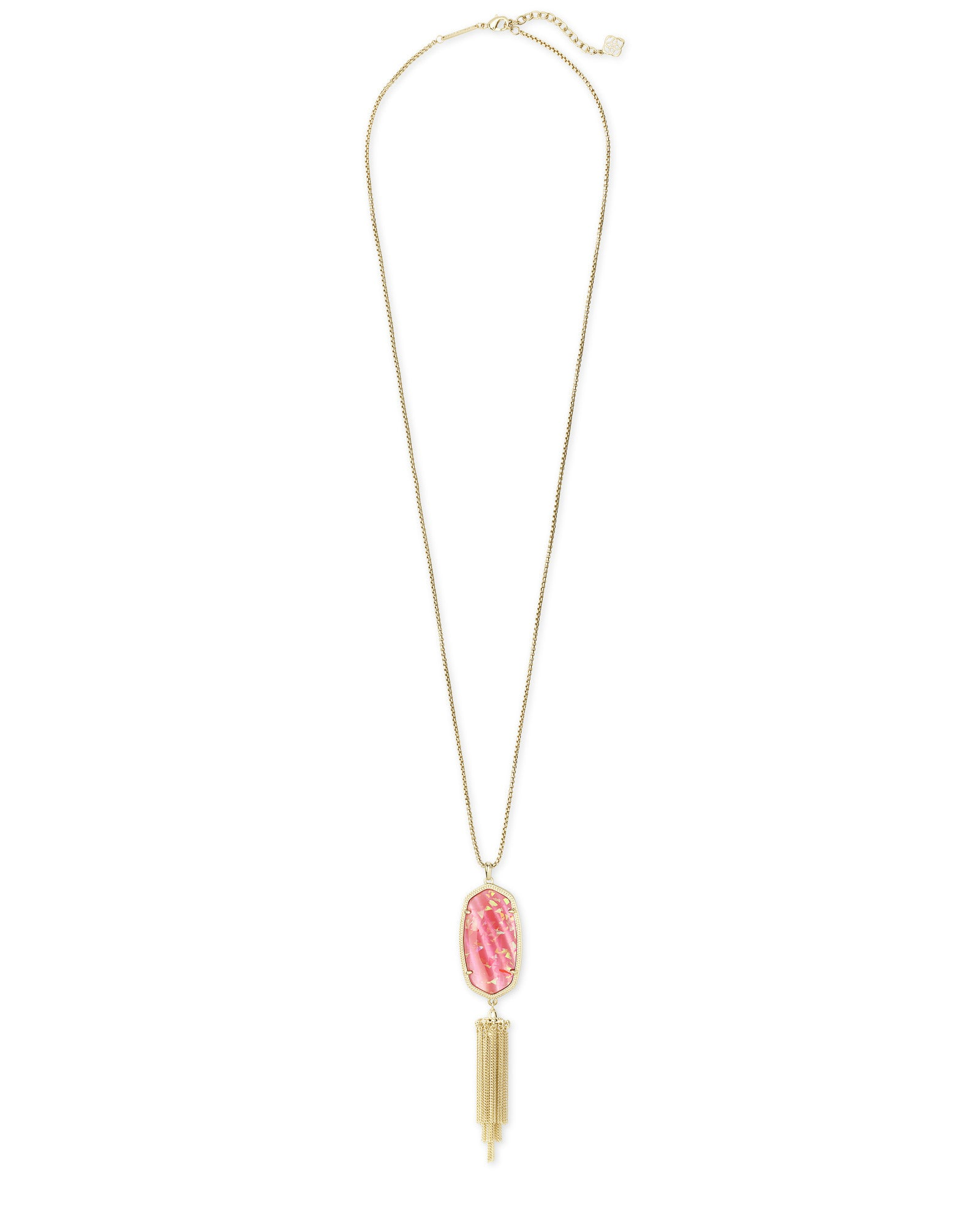 Rayne Gold iridescent Coral Necklace