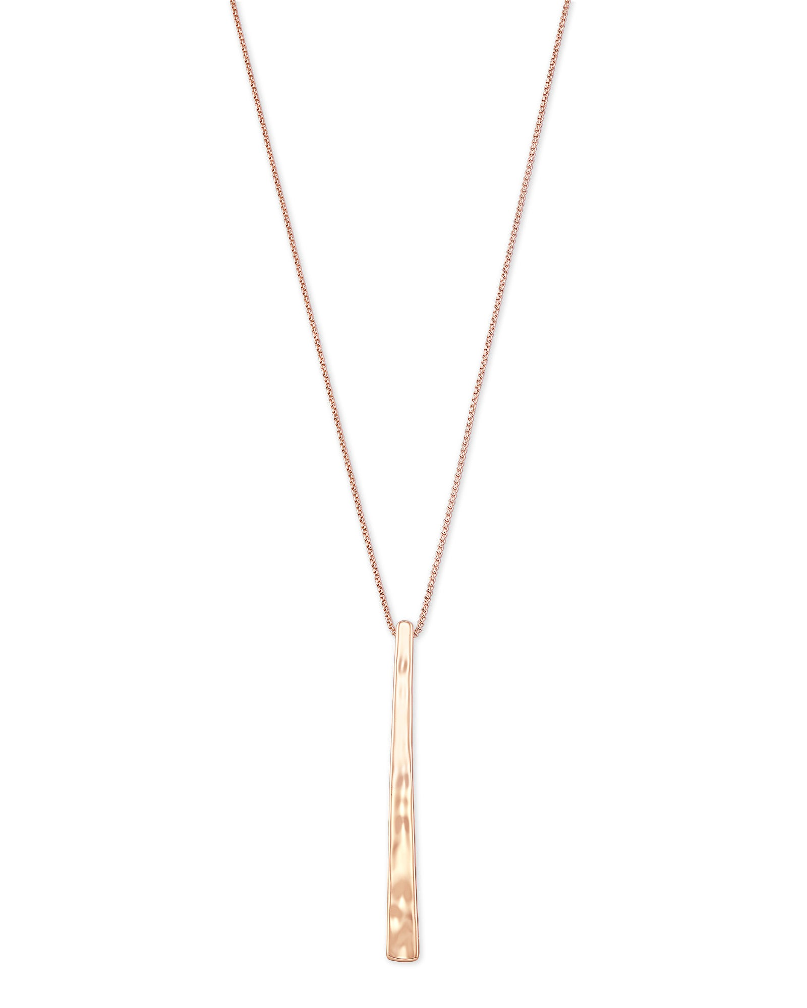 Zorte Rose Gold Long Pendant