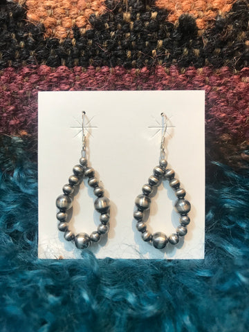 Small Varied Navajo Pearl Earrings