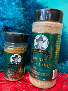 Baldridge's Secret Seasoning
