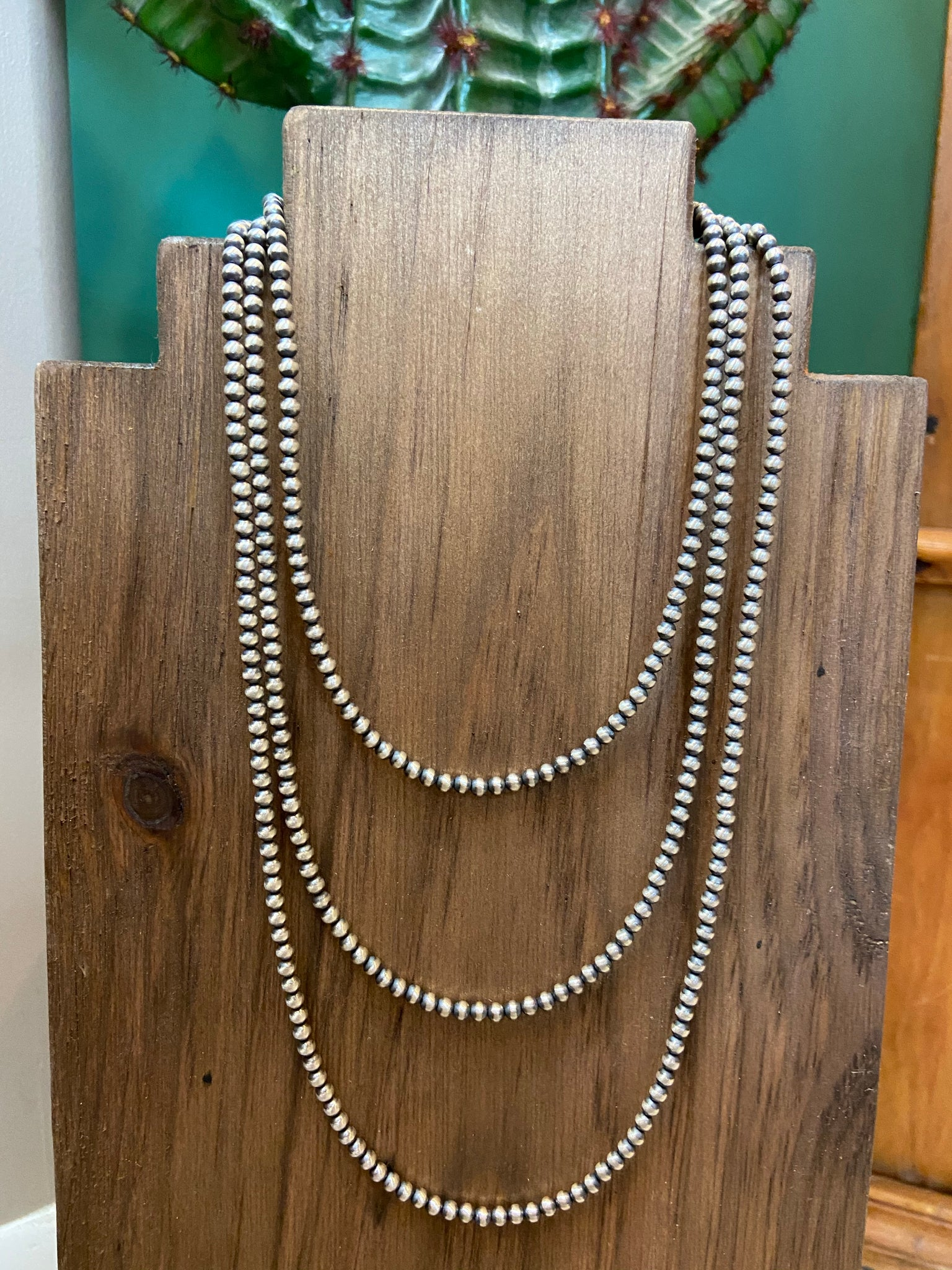 4mm Navajo Pearls