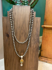 8mm Navajo Pearls