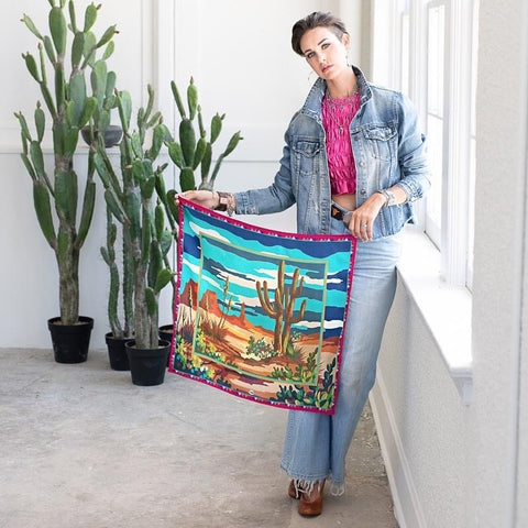 Paint by Numbers Scarf