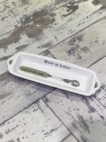 Mudpie Circa Butter Dish- Set of Two