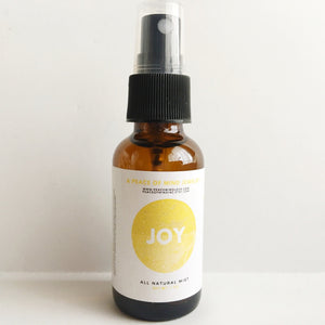 Joy - Meditation/Body Mist - Made with All Organic Ingredients