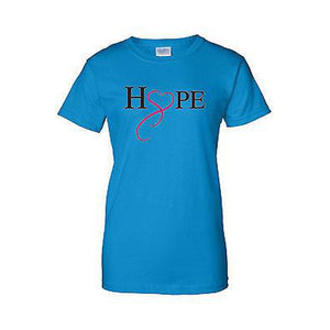 Women's Juniors T Shirt breast cancer awareness Hope & Love Women - Apparel - Shirts - T-Shirts - Brisho.com