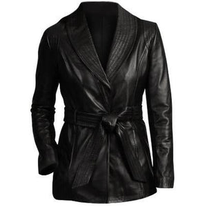 Black Women Fashion Leather Jacket Women - Apparel - Outerwear - Jackets - Brisho.com