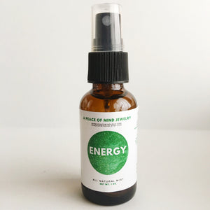 Energy - Meditation/Body Mist - Made with All Organic Ingredients
