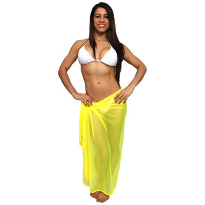 Mesh Sarong Long Length Women - Apparel - Swimwear - Cover Ups - Brisho.com