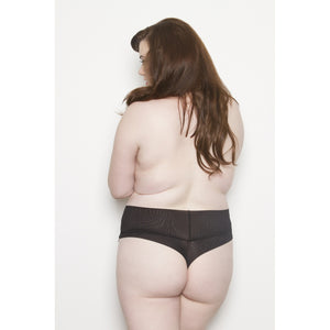 Signature Thong Black