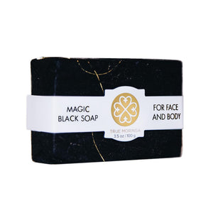 MAGIC BLACK SOAP (FOR FACE AND BODY) Beauty - Women's - Skincare - Brisho.com