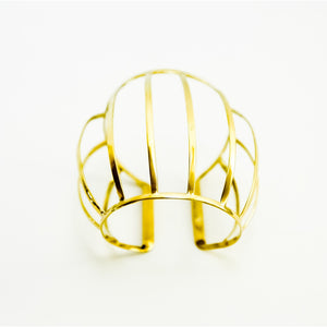 Caged Dome cuff Women - Jewelry - Cuffs - Brisho.com