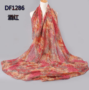Cotton Voile Polyester Scarves Accessories - Brisho.com