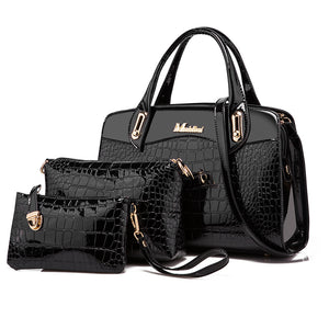 Crocodile Handbags Sets