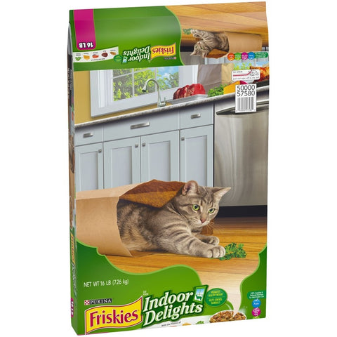 Friskies Indoor Delights Dry Cat Food