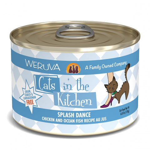 Weruva Cats in the Kitchen Splash Dance Canned Cat Food
