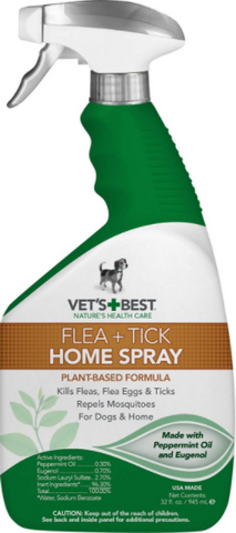 Vet's Best Flea and Tick Home Spray for Dogs and Cats