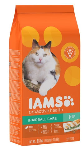 Iams ProActive Health Hairball Care Recipe Dry Cat Food