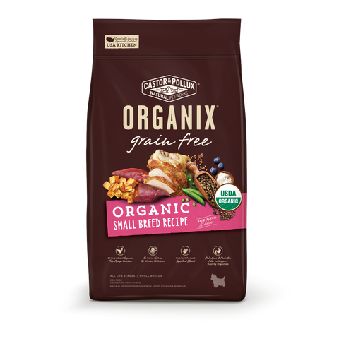 Castor and Pollux Organix Grain Free Organic Small Breed Dry Dog Food