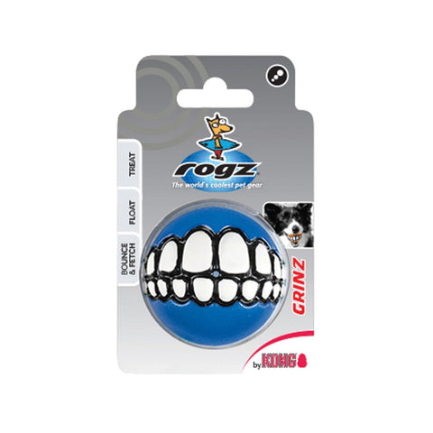 KONG ROGZ Grinz Dog Toy   (Colors Vary)