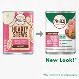 Nutro Hearty Stew Adult High Protein Natural Cuts In Gravy Roasted Turkey Sweet Potato & Green Bean Stew Wet Dog Food