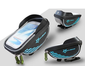 MTB Phone Holder Blue