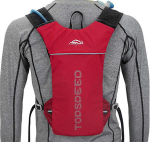 MTB Hydration Backpack Red