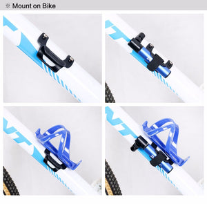 Lightweight MTB Bike Tyre Pump Holder