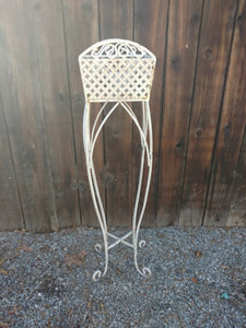 Shabby Metal Plant Stand