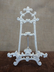 Beautiful Cast Iron Table Easel