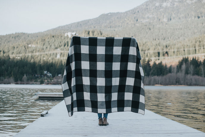 CAMP BLANKET - BUFFALO CHECK