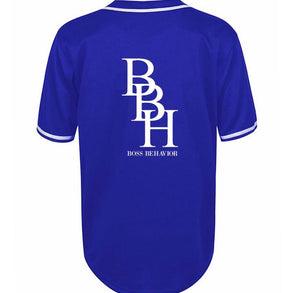 Major League Blue BBH Unisex Jersey