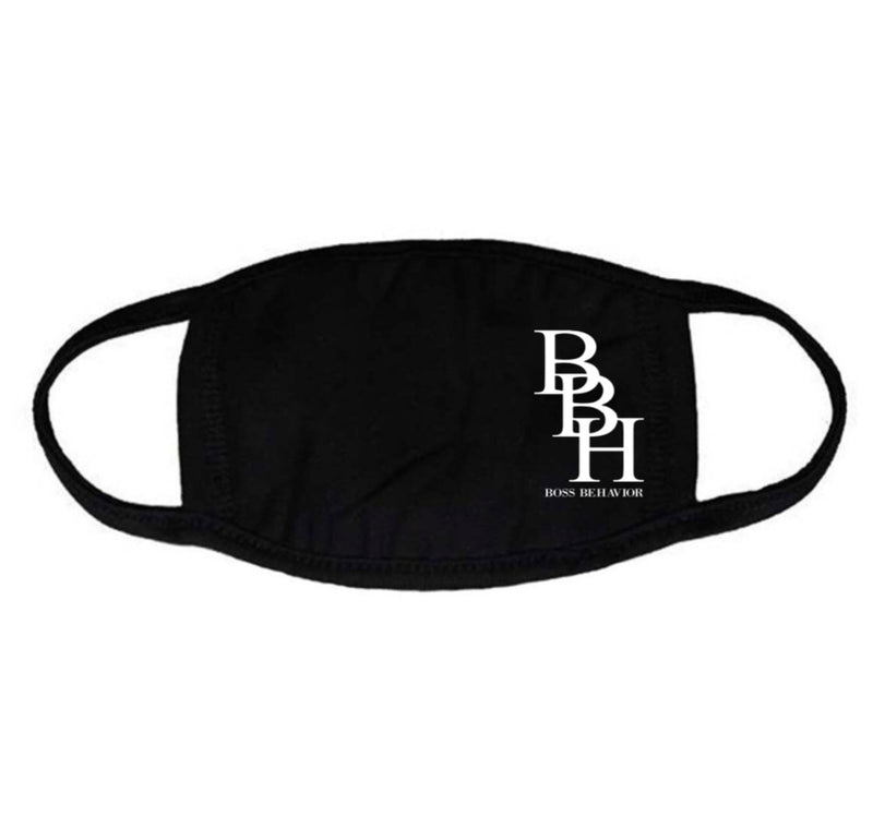 BBH Boss Behavior Unisex Face Mask