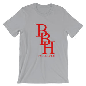 BBH Red Logo Short-Sleeve Unisex T-Shirt (Multiples Colors)