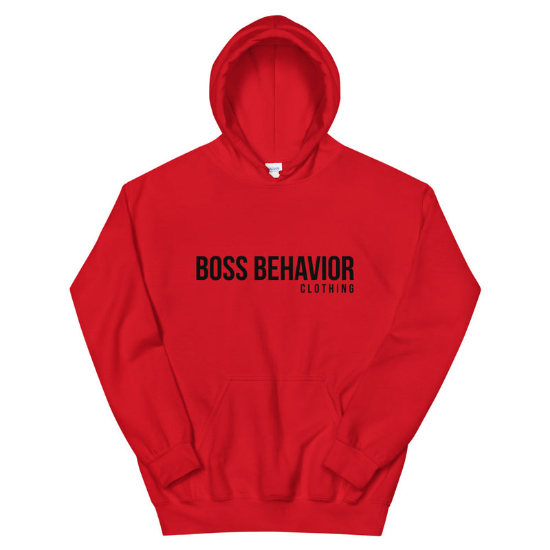 Boss Life Hoodie With Black Logo