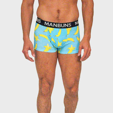 MANBUNS Gone Bananas Boxer Trunk