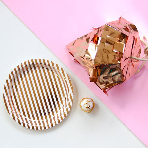 Copper Luxe Plates