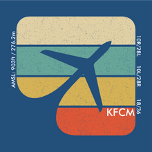 Load image into Gallery viewer, KFCM Airport Flying Cloud