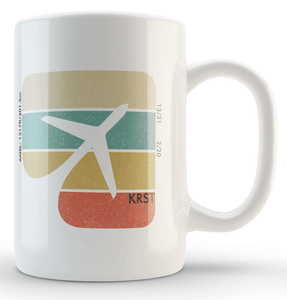 KRST Airport Rochester Coffee Mug