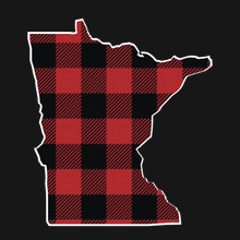 Load image into Gallery viewer, Minnesota Checkered Buffalo Plaid Hoodie