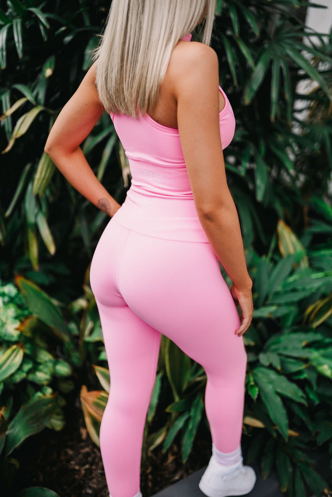 HALO Full Length Tights Pink - MISSFITCO