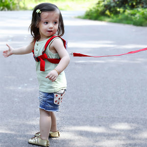 Toddler Harness Backpack With Angel Wings