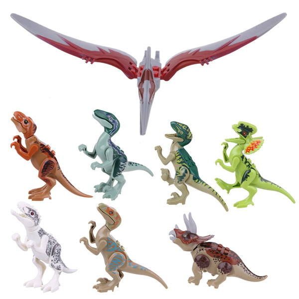 Set Of Eight Dinosaurs