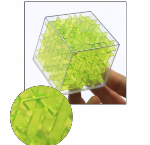 3D Maze Magic Cube Puzzle