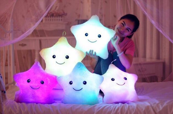 Shinning Star LED Pillow