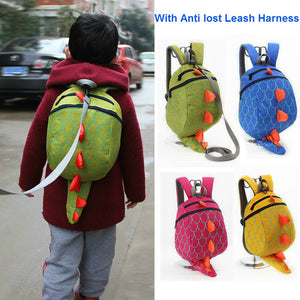 Dinosaur Back Pack With Leash