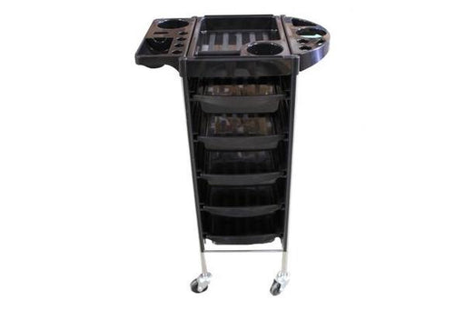 Hair Trolley with 5 Shelves Tool Holders