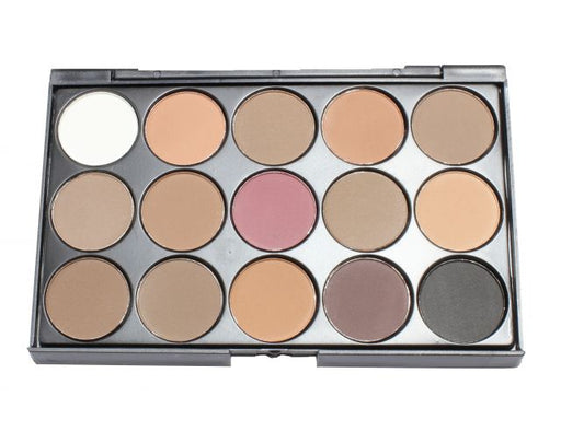 15 Colors E-1 Eyeshadow Mini - Warehouse Beauty